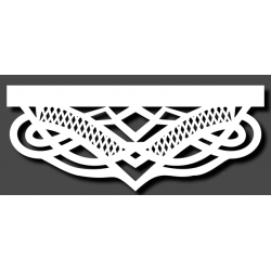 Panel ażurowy panama 100cm