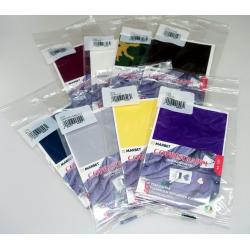 Łatki naklejki wodoodporne kolor bordowy - BORDEAUX