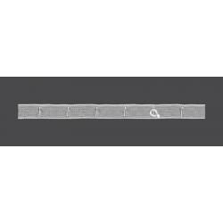 Taśma firanowa pionowa 20mm 50m do rolet (F6-Z)_M