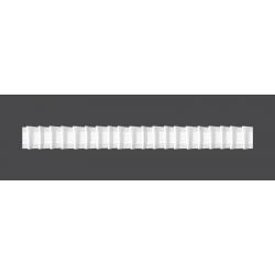 Taśma firanowa ołówek 25mm 1:2 50m (F1-200) _M
