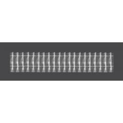 Taśma firanowa ołówek 50mm 1:2 50m (LZ5/Z/50-200) _M