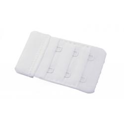 Przedłużacz biustonosza 2 rzędowy 35mm białe