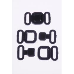 Zapięcie S16622 004 czarna 10mm