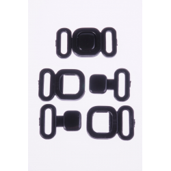 Zapięcie S16623 004 czarne 14mm