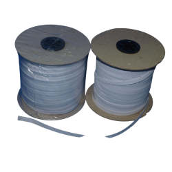 Guma tkana 7mm (100m) (10.P7001) CZARNA HURT kolor gumy: Czarna szerokość gumy: 7mm