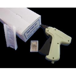 Pistolet metkownica + plomby 25mm + igły 3w1 zestaw